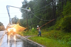 Kings River outage. Tanya Ackerman/Coastal Observer