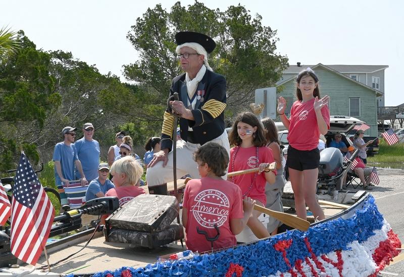 Washington's Crossing was Most Patriotic. George Lever was Washington.