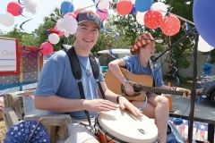 Mo Meares and Lana Guy perform on the Pawleys Peeps float that won Best Musical.