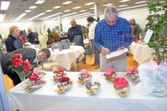 The 15th annual Camelia Show in cooperation with the Grand Strand Camellia Society filled a vacant store in the Murrels Inlet Square Mall. Tanya Ackerman/Coastal Observer