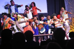 The Watoto Children's Choir, of Uganda, Africa, perform in Murrells Inlet at Christ Church. About 150 people attended the concert. Tanya Ackerman/Coastal Observer