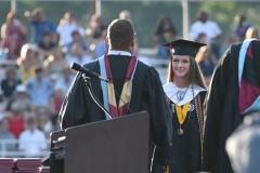 Chloe Johnson, the class president.
